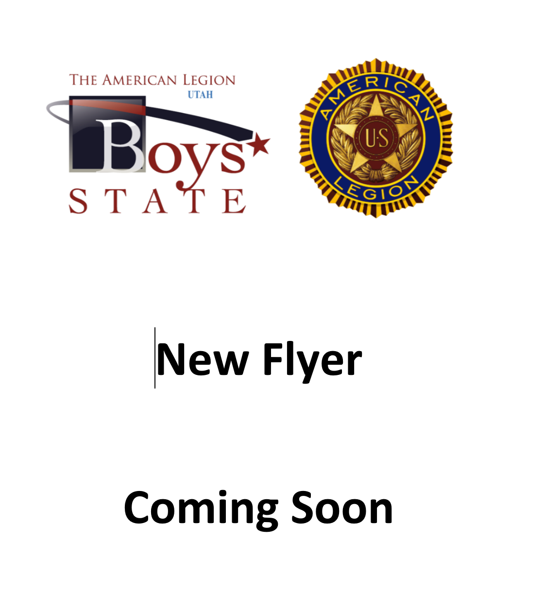 Updated Flyer Boys State 2021